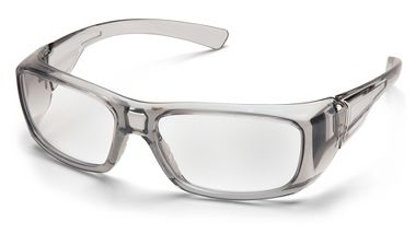 Pyramex Emerge™, Complete Reader Lens Safety Glasses, Gray Frame, Clear Lens