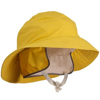 Tingley 35 Mil PVC Waterproof  Rain Hat with Ear Flaps and Chin Strap