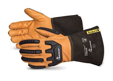 Endura® Anti-Impact Kevlar®-Lined Goatskin Driver Gloves with Oilbloc™