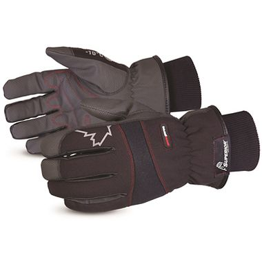 SnowForce™ PU Palm Coated Winter Gloves, 100G Thermal Insulation