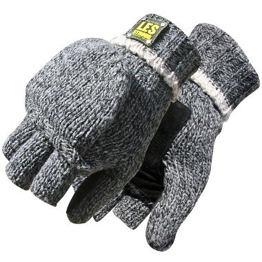 Bob Dale® Les Stroud™ 14-9-3120  Thermal Insulation Lined Ragg Wool Flip-Mitt