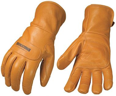 Youngstown Leather Utility Plus Goatskin Gloves