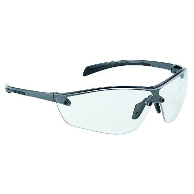 Bollé® 40237 Silium+ Safety Glasses, Clear Anti-Fog Lens