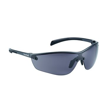 Bollé® 40238 Silium+ Safety Glasses, Smoke Anti-Fog Lens