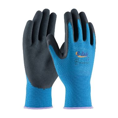 PIP 55-AG316 G-Tek® Lite Polyester Knit Gloves, Latex Coated MicroSurface Grip