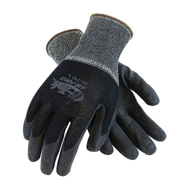 PIP 32-747 G-Tek® Air Force™ Nylon Knit Glove, Air-Infused PVC Coated Palm & Fingers