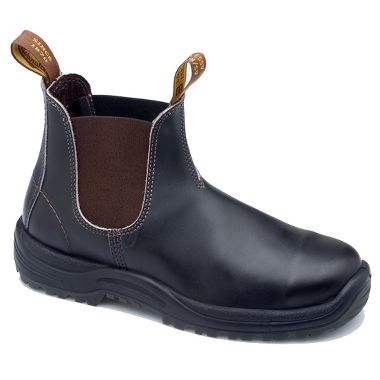 Blundstone® 172 Stout Brown XTreme Safety Series Leather Pull-On Work Boots