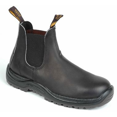 Blundstone® 179 Black XTreme Safety Series Leather Pull-On Work Boots