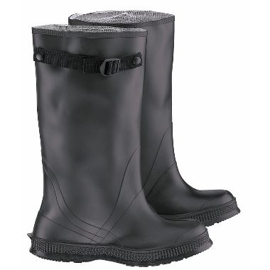 "Dunlop® (Formally Onguard®) 86050 Slicker PVC 17"" Overboots, Black"
