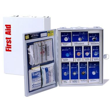 First Aid Only™ 90578 Medium Metal SmartCompliance First Aid Cabinet without Medications