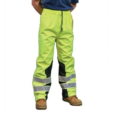 VizLite® DT A266 Alpha Work Wear ANSI Class E Rain Pant, Glows in the Dark