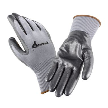 Otterback™ Foamed Nitrile Coated Knit Gloves, Touchscreen Compatible