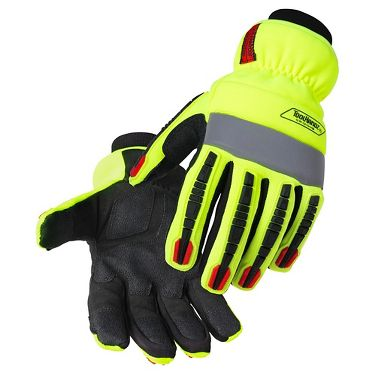 Black Stallion®  GW1010-HB ToolHandz® Insulated, Water Resistant Hi-Viz Mechanic's Gloves