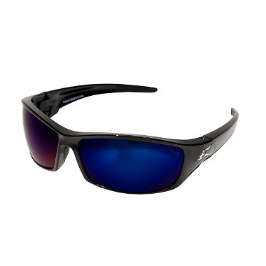 Edge® SR118 Reclus Safety Glasses, Blue Mirror Lens