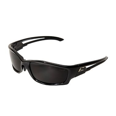 Edge® SK116VS-AFT Kazbek Safety Glasses,  Black Frame, Vapor Shield Smoke Lens