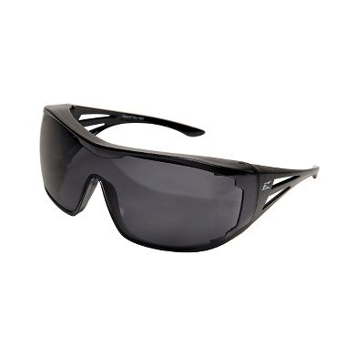 "Edge® XF116-L Ossa ""Fit Over Rx"" Safety Glasses, Smoke Lens"