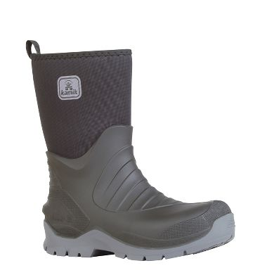 Kamik Insulated Shelter Boots, Waterproof, Oil & Acid Resistant, 7mm Neoprene Upper, 12""