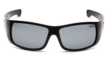 Pyramex™ SB8520DT Furix ® Safety Glasses, Anti-Fog Gray Lens, Black Frame
