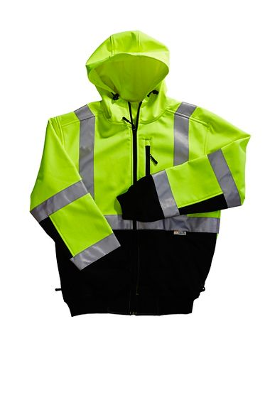 Xtreme-Flex™ Class 3 Soft Shell Contractor Hoodie Jacket