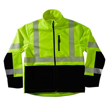 Xtreme-Flex™ Soft Shell Hi Viz Reflective Jacket