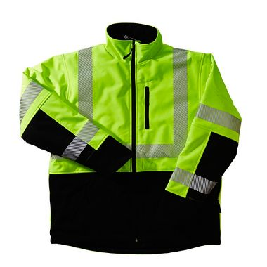 Xtreme-Flex™ Insulated Soft Shell Hi Viz Reflective Jacket