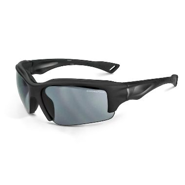Crossfire® 25221 Alpine™ Safety Glasses, Matte Black Frame, Smoke Lens