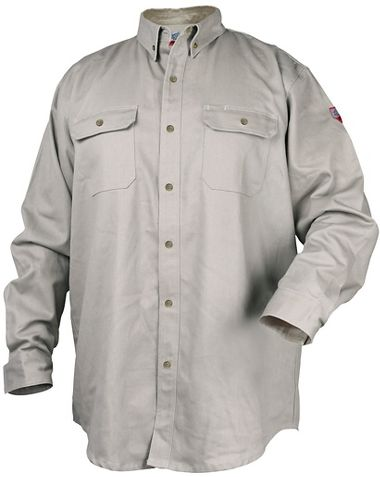 Black Stallion® TruGuard™ 300 FR Cotton Work Shirt