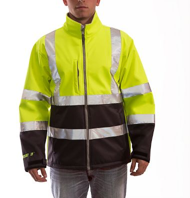 Tingley J25022 Phase 3™ 5.5 oz Soft Shell, Fleece Lined Class 3 Jacket