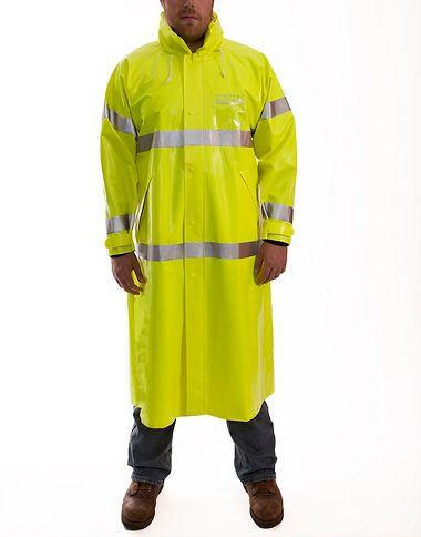 Tingley C53122 Comfort-Brite® .35mm Flame Resistant Class 3 Rain Coat
