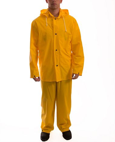 Tingley S61317 Tuff-Enuff™ .20mm Single Ply PVC Rain Suit