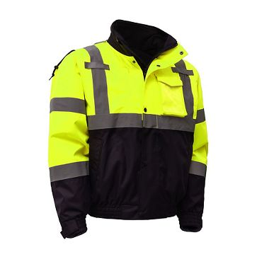 GSS Class 3 Waterproof 3-in-one Bomber Jacket with Removable Fleece