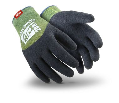 HexArmor® 2000 Series™ 2081 Rubber 3/4 Coated Cut Resistant Knit Gloves