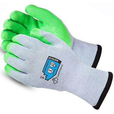 Dexterity® Knit Glove, Latex Palm Coated with Punkban™ Puncture Resist