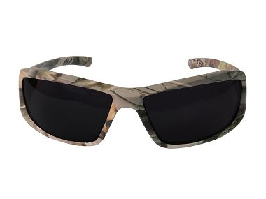 Edge® XB116CF Brazeau Forest Camouflage Safety Glasses, Smoke Lens