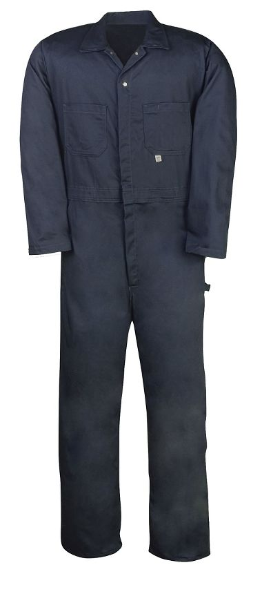 Big Bill® 414 Cotton Industrial Work Coverall, 100%, Zipper Front