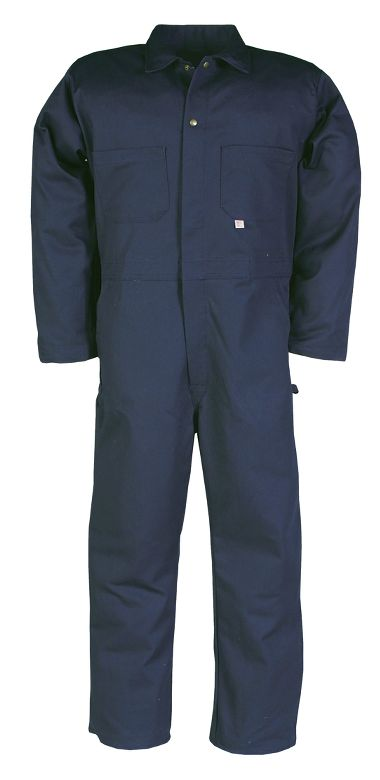 Big Bill® 500 Cotton Industrial Work Coverall, 100%, Button Front