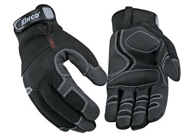Kinco® 2051  Insulated and Waterproof Mechanics Gloves, Adjustable Pull Strap Cuff