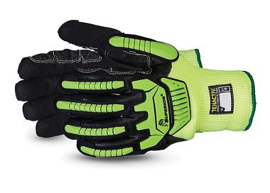 TenActiv™ Cut-Resistant Anti-Impact Hi-Viz Insulated Glove with  Nitrile Grip Palm