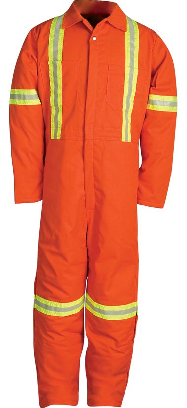 Big Bill® 837BF Insulated Twill Coverall with Reflective Material