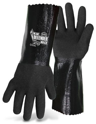 Boss® 1UH7015 Blade Defender Maxx Cut Resistant Nitrile Coat Glove, 12""