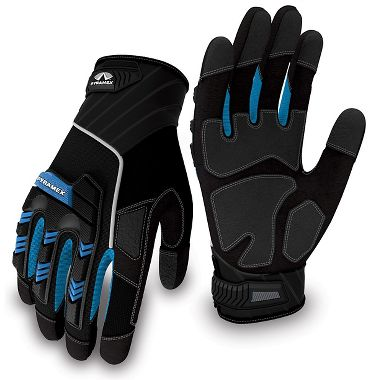 Pyramex® GL201 Series Impact Protection Mechanics Gloves