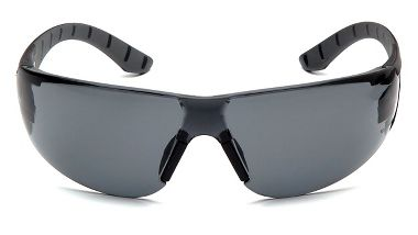 Pyramex® SBG9620ST Endeavor+ Safety Glasses, Gray H2X Anti-Fog Lens, Black/Gray Temples