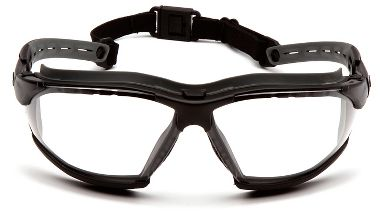 Pyramex® GB9410STM Isotope Safety Glasses, Clear H2MAX Anti-Fog Lens