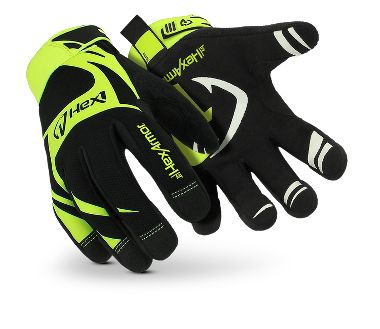 HexArmor® Hex1® 2120 Synthetic Leather Mechanic's Gloves, Adjustable Hook & Loop Cuff