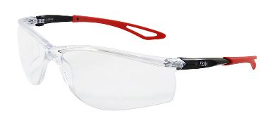 Trim Safety Glasses, Anti-Fog Clear Lens