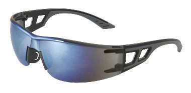 Truss Safety Glasses, Blue Mirror Lens