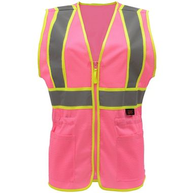 GSS High Visibility Mesh Ladies' Safety Vest