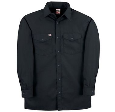 Big Bill® 247 Snap Front 6 oz. Twill Long Sleeve Work Shirt, Made in USA