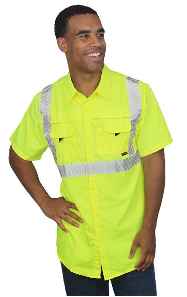 Tingley®  S76022 Job Sight™ Class 2 Sportsman Shirt, Short Sleeve