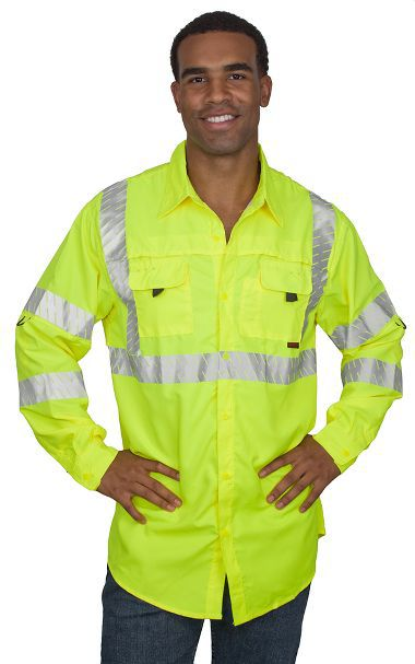 Tingley® S76522 Job Sight™ Class 3 Sportsman Shirt, Long Sleeve